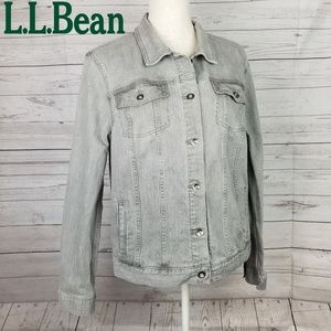 L.L Bean 1912 Denim Jean Jacket
